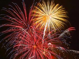 Memorial Day Fireworks Mountain Cove Marina 2015