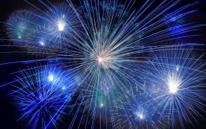 July 2 Fireworks on Douglas Lake