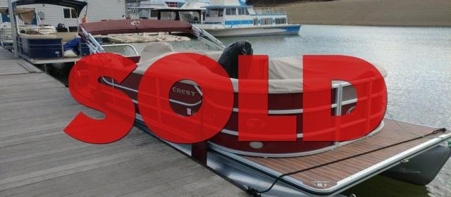 SOLD: 2014 CREST III 230SLC w/ 150 HP Mercury Outboard