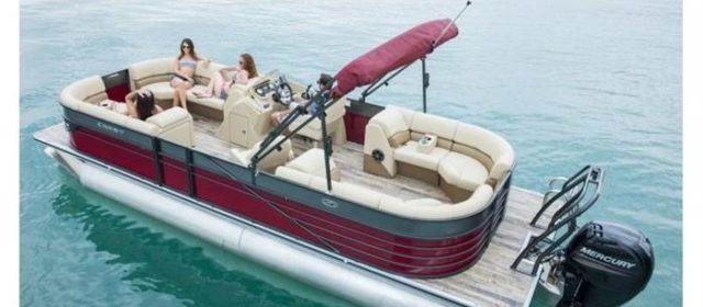 2018 Crest III 230 SLR2 Pontoon Boat