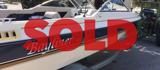SOLD: 1996 Bayliner 1950 Capri Bowrider – $3700 (Sevierville)