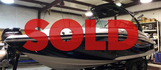 2014 Hurricane SunDeck SD 2400 I/O w/ Trailer – $49,900 (Sevierville)