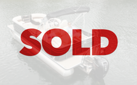 SOLD: 2018 Crest III 230 SL Pontoon Boat