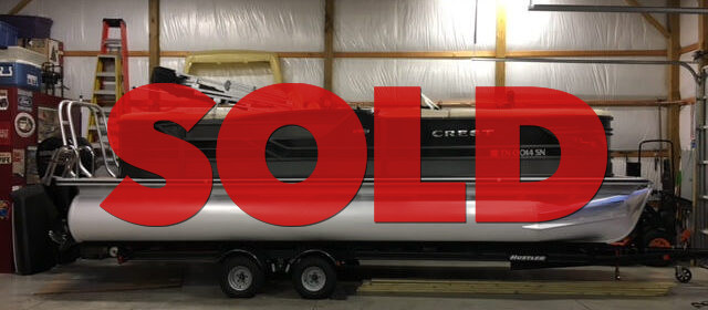 SOLD: 2016 Crest Classic 230 SLC w/ 150 HP Mercury Outboard and Trailer – $39900 (Sevierville)