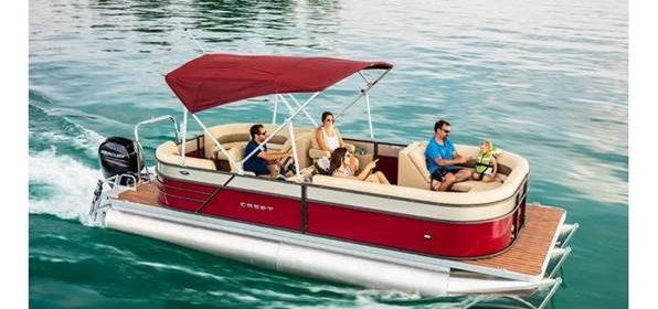 2018 Crest I 220 SLC Pontoon Boat
