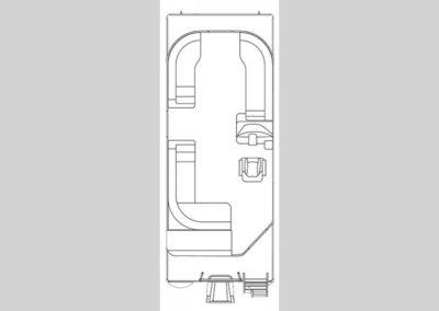 2018 Crest II 230 L floorplan