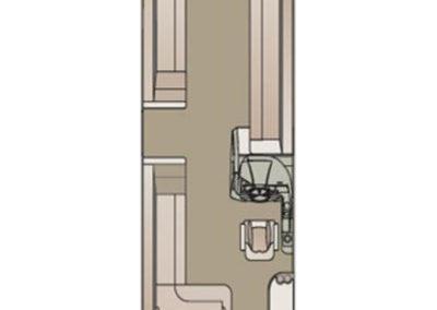 2018 Crest II 230 SLS Floorplan