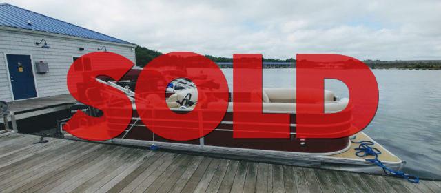 SOLD: 2015 22′ Crest I SLR w/ 90 HP 4 Stroke Mercury Outboard – $19400 (Sevierville)
