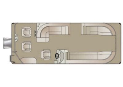 2019 Crest I Fish 200 SF Pontoon Boat
