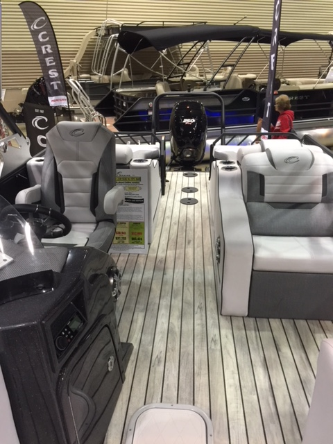 2017 Crest Caliber 230 SLR2 with a 2018 Mercury 300 Verado Outboard