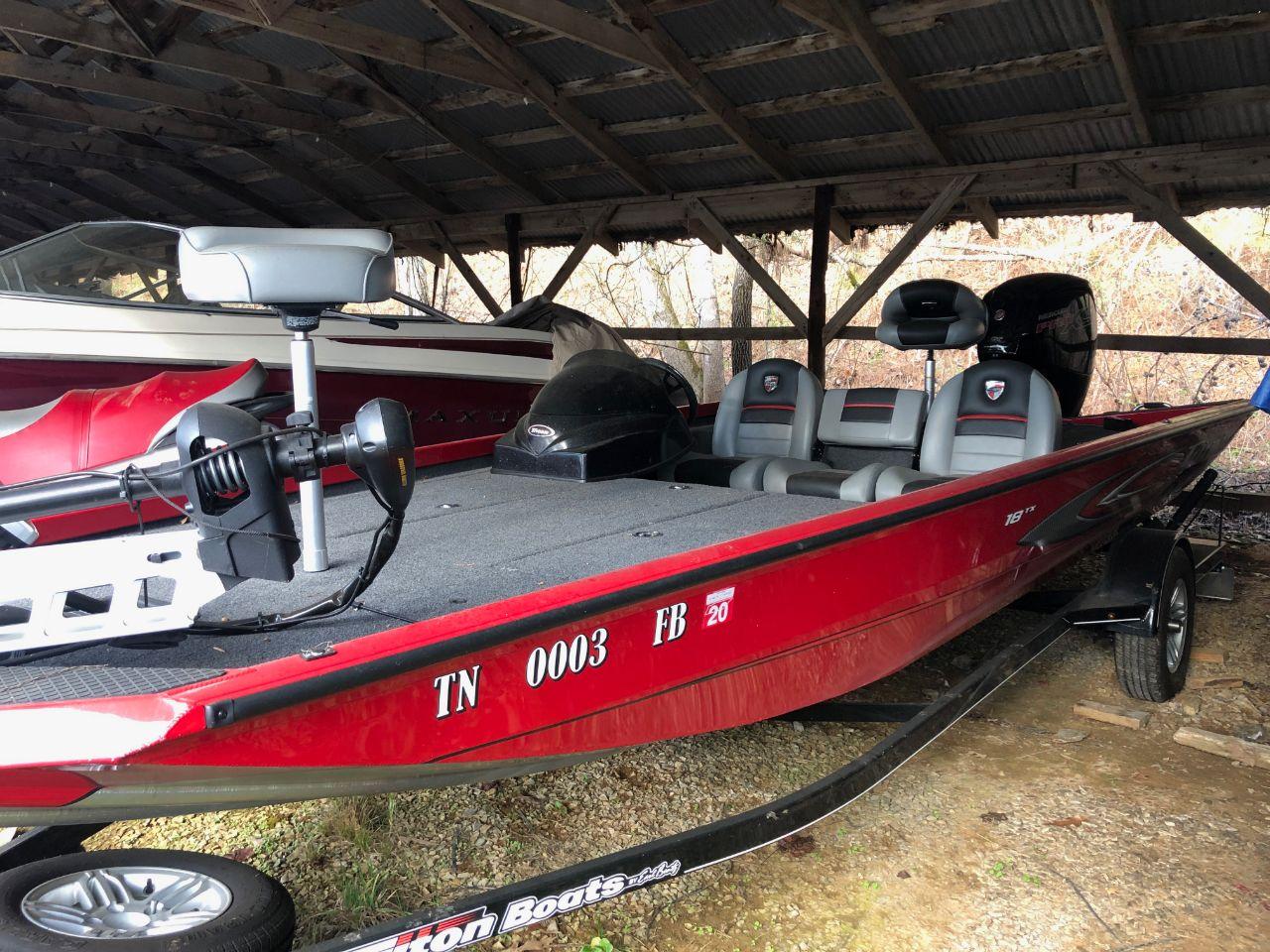 2017 Triton 185 Bass Boat