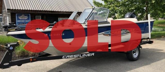 SOLD: 2009 Crestliner 1850 Sport Fish – $29,990 (Sevierville)