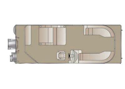 2019 Crest I 220 SLRD Pontoon Boat