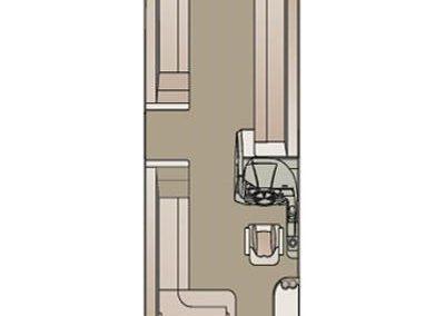 2019 Crest III 220 SLS floorplan