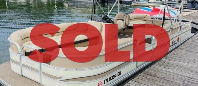 2015 Suntracker 24DLX Party Barge Pontoon – $17400 (Sevierville)