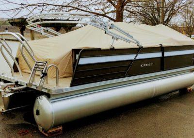 2020 Crest LX 220 SLS Pontoon Boat