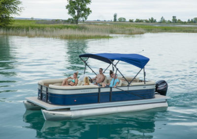 2020 Crest LX 220 SLRC Tritoon Boat