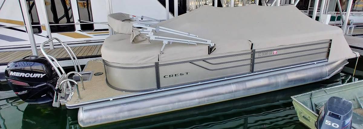 2015 CREST III 250 SLC Tritoon