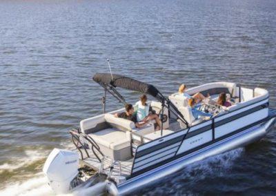 2020 Crest Classic Platinum 220 SLS Tritoon Boat