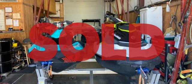 SOLD: 2018 Seadoo Spark and 2018 Seadoo BRP – $15,900 (Sevierville)